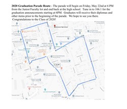SHS PARADE ROUTE