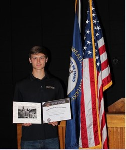 Oursler Accepted to West Point