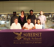 Issiah Jones Signs with St. Catherine College