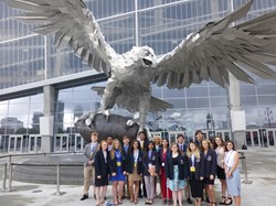 Top 10 DECA Finalists at ICDC