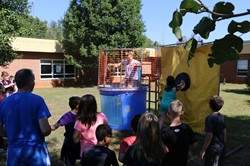 Students Dunk their Principals