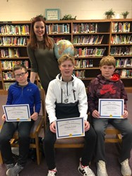 Meece Middle School Holds Annual Geographic Bee