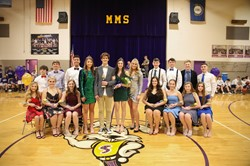 2019-2020 Homecoming Court