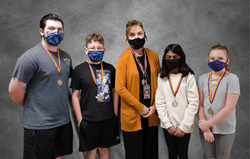 Meece Middle School Character Salute Winners - RESPONDSIBILITY