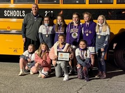 MMS 6th Grade Girls are State Basketball Champions