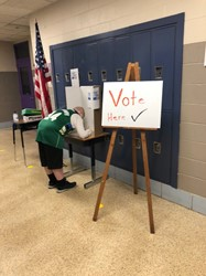 Meece Middle Students Hold Mock Election