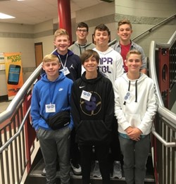 MMS Students Participate in G2-TECS Conference at Somerset Community College