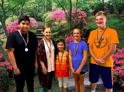 August 2019 - Character Salute Winners - Responsibility