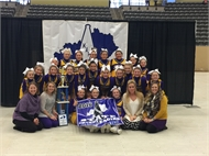 Photo of Meece Middle School Cheerleaders  State Champions