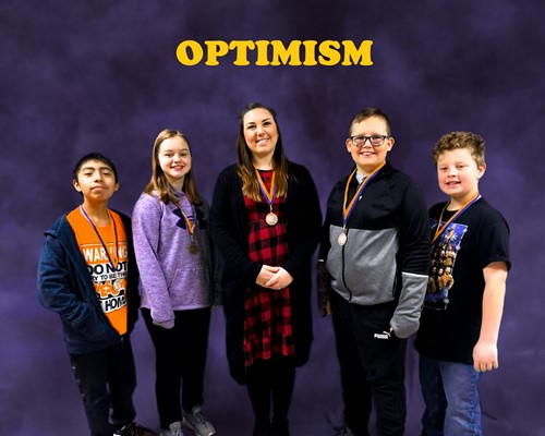 January 2020 Character Salute Winners - Optimism