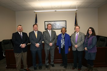 2019 Somerset Board of Education Members and Superintendent