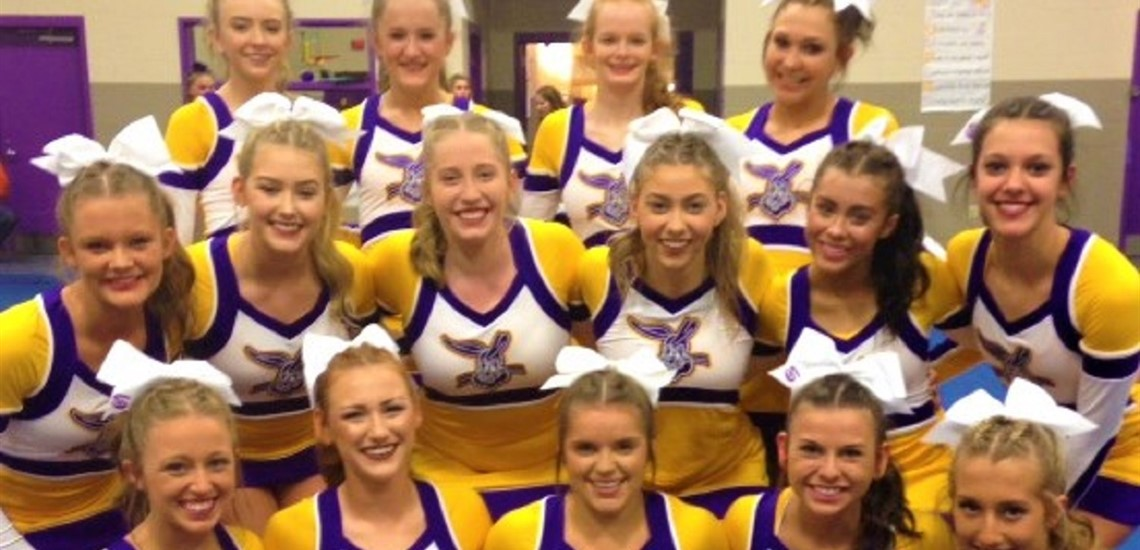 Nationally Competitive High School Cheer Team
