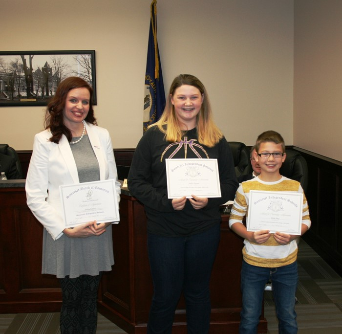 November 2016 Student Recognition