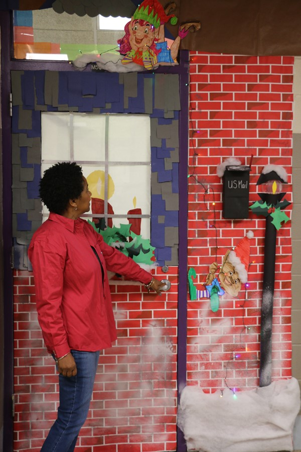 Christmas Door Contest