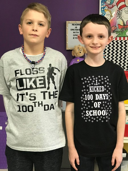 "Who said, ""4th grade can't celebrate the 100th Day of School?"""