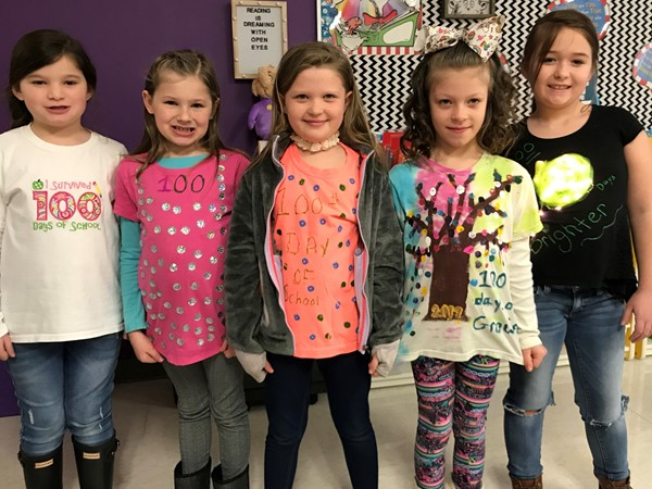 100th Day Shirts!