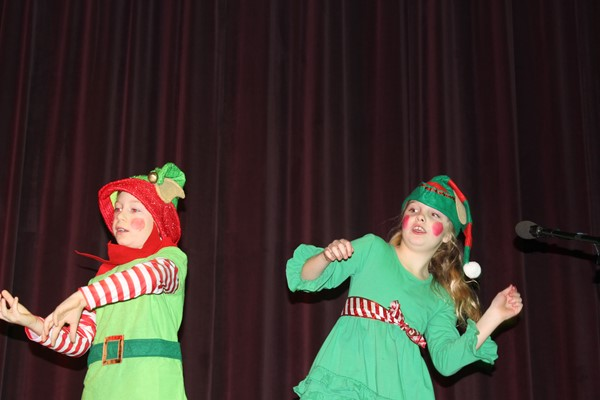 Elves in action!