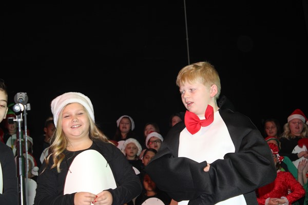 Brooke and Colyer make the cutest penguins!