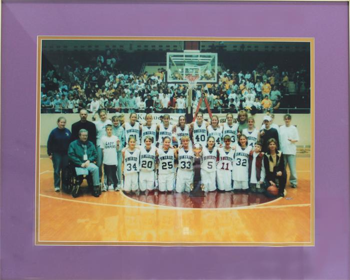 2001 Somerset All A Girls Basketball State Champions
