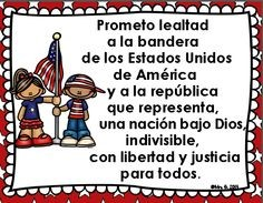 Pledge of Allegiance in spanish