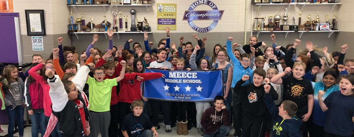Meece Middle School a Four Star School