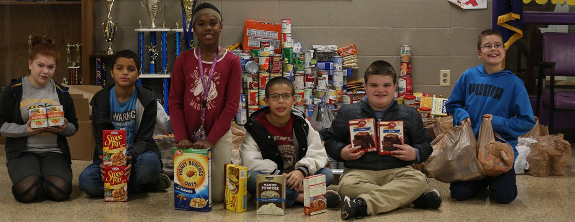 2019 Bethany House Food Drive - Over 2,000 Food Items Collected