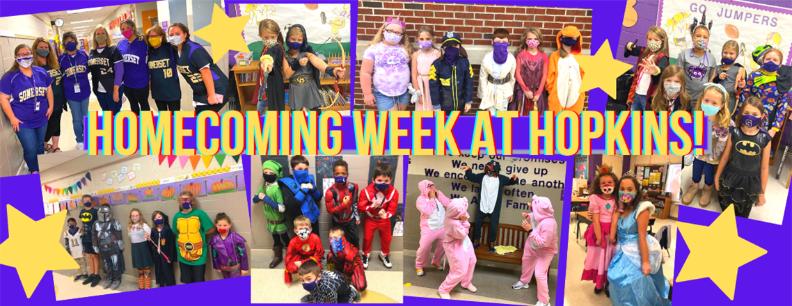 Homecoming Week at Hopkins!