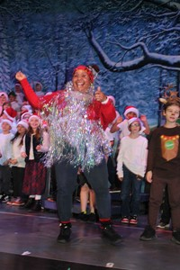 Tinsel Tina was the highlight of the play!