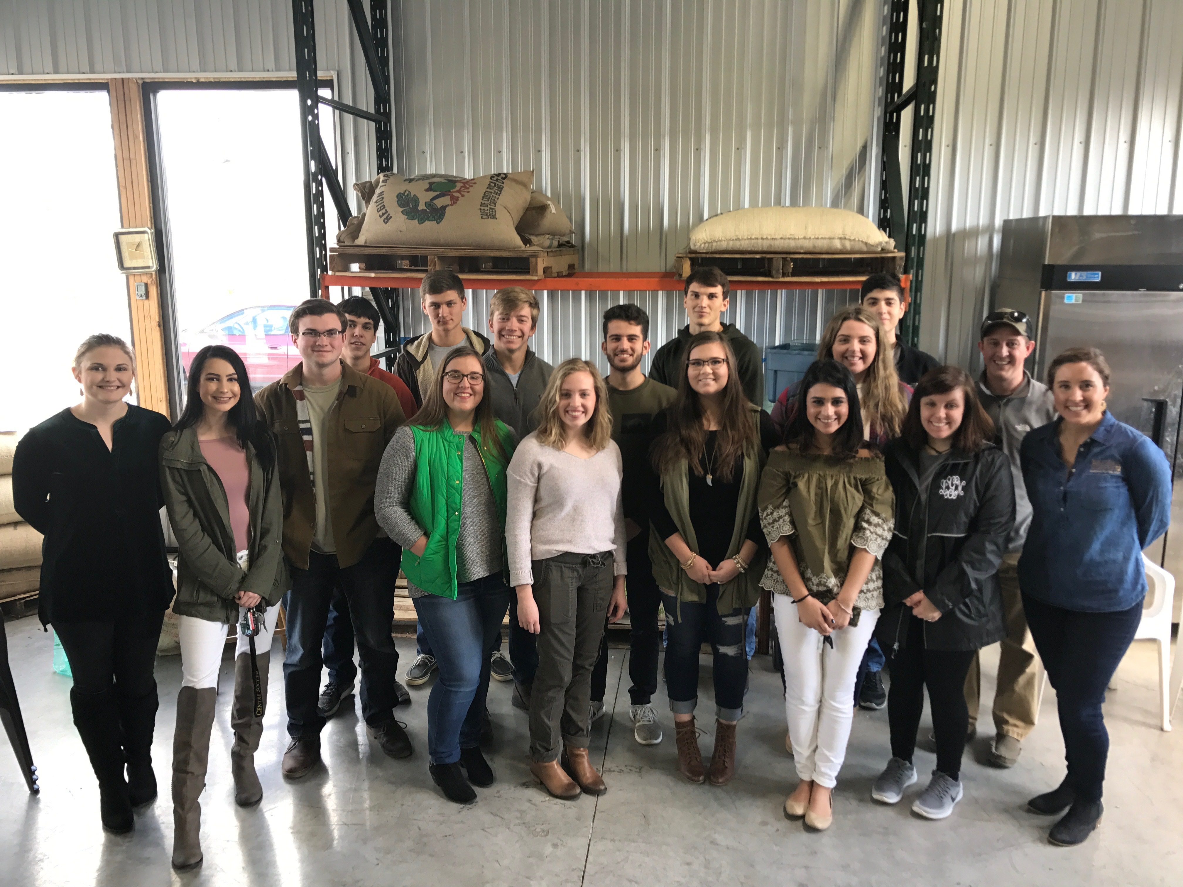 Advanced Marketing Visits Baxters Coffee