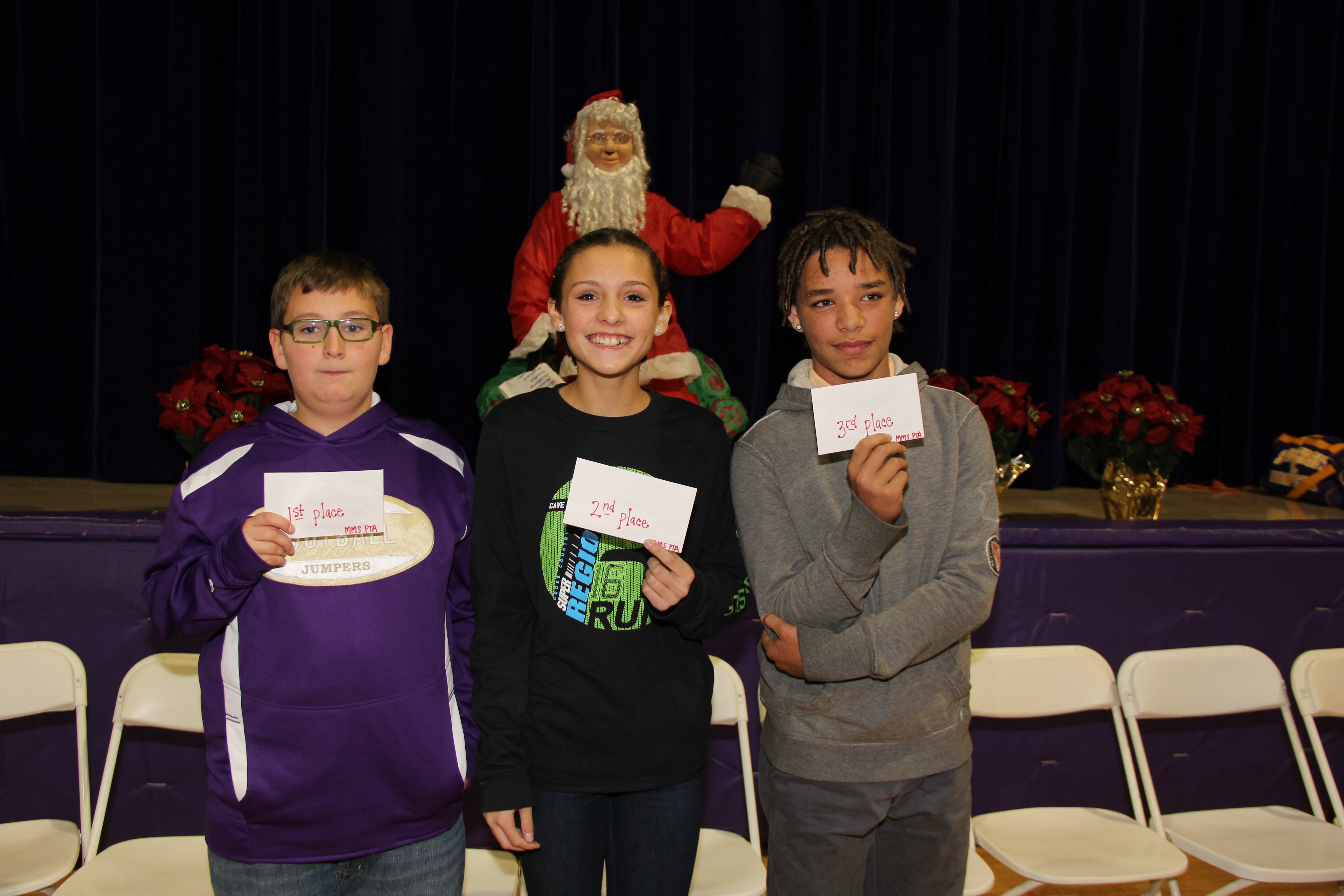 MMS 6th Annual Math Bowl Top 3