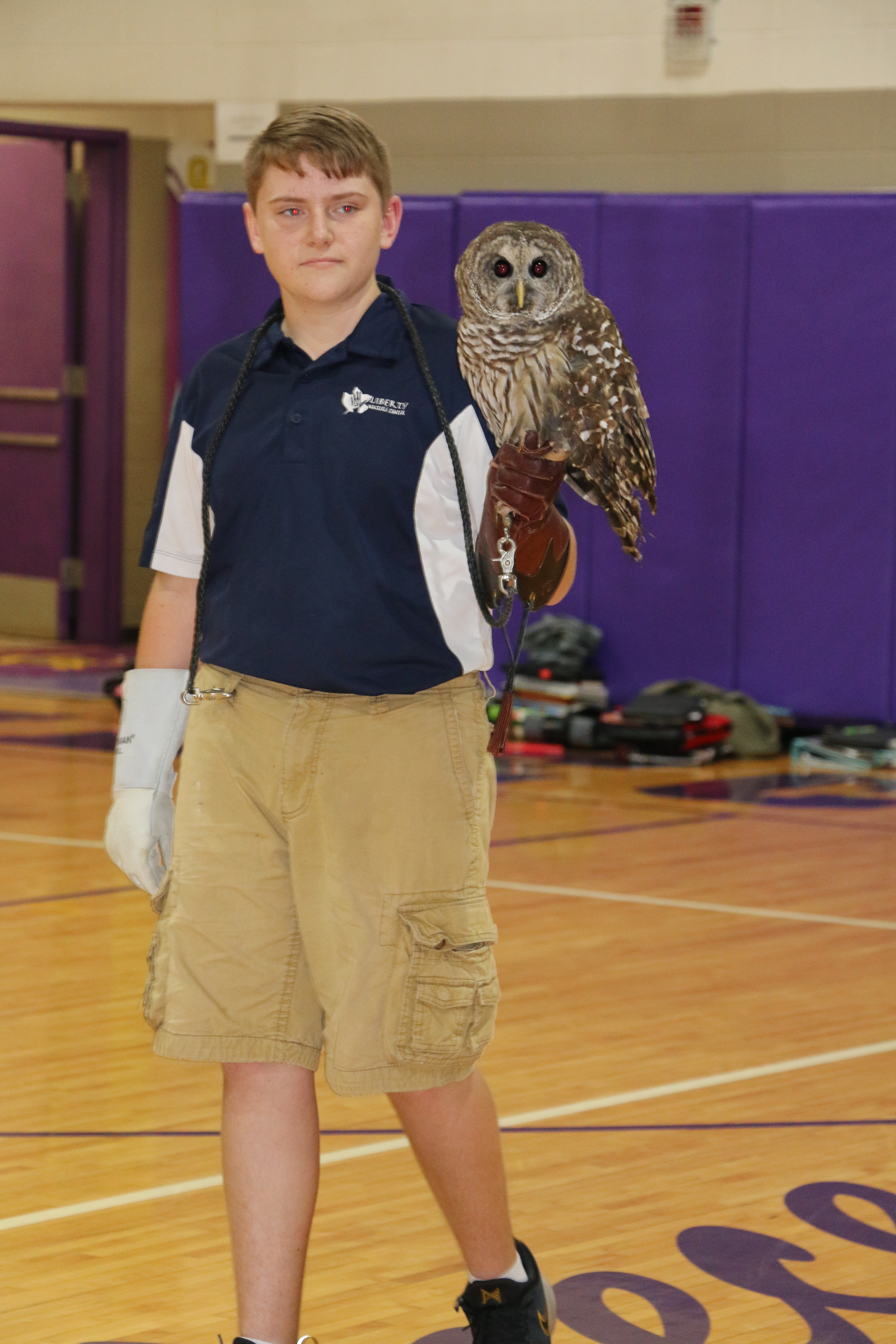 Liberty Nature Center Visits MMS