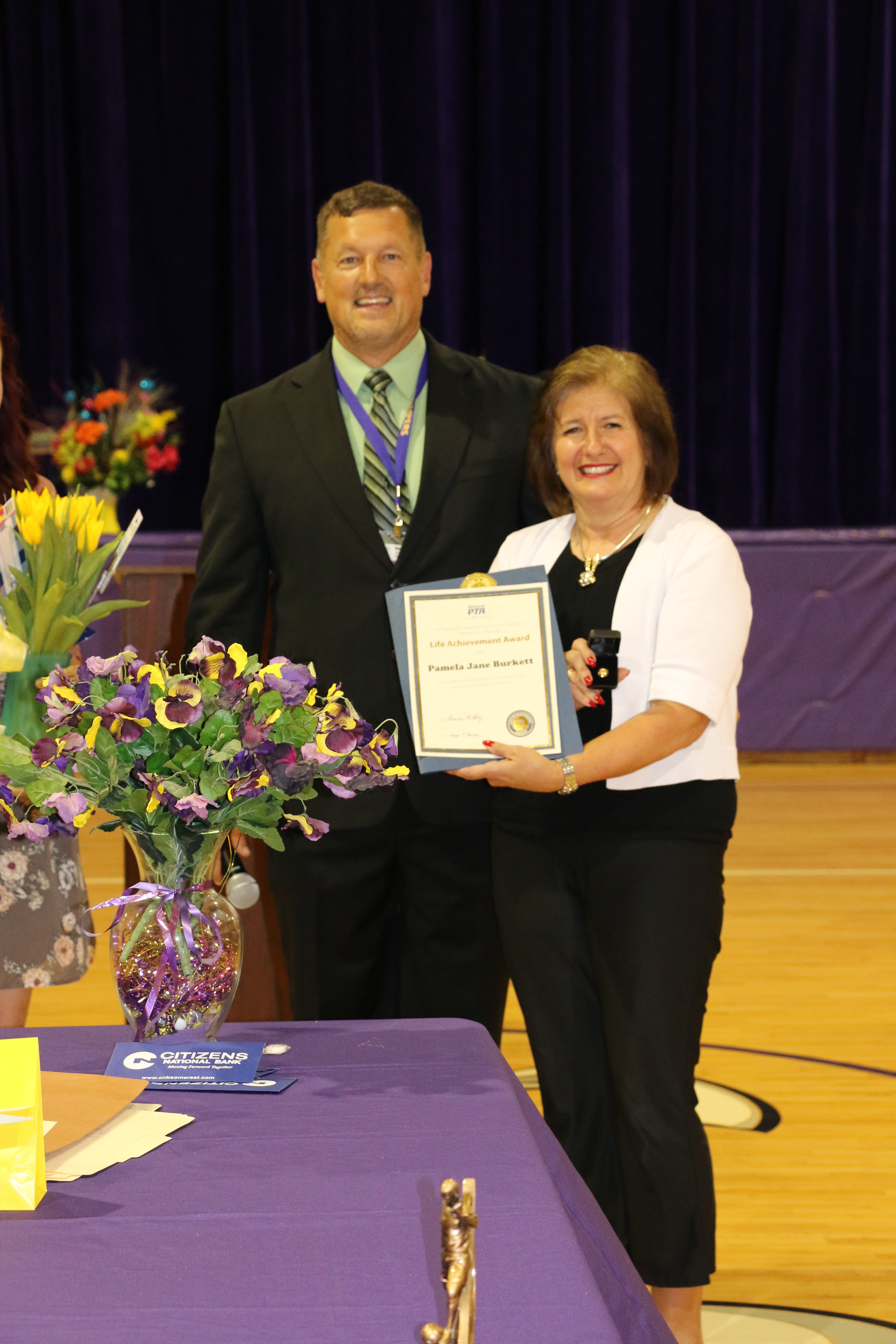 National PTA Honors Life Achievement Award