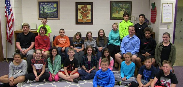 2016-2017 Meece Middle School - Student Council Members
