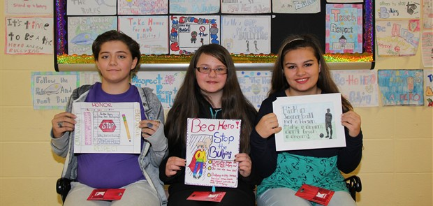 Anti-Bullying Poster Winners