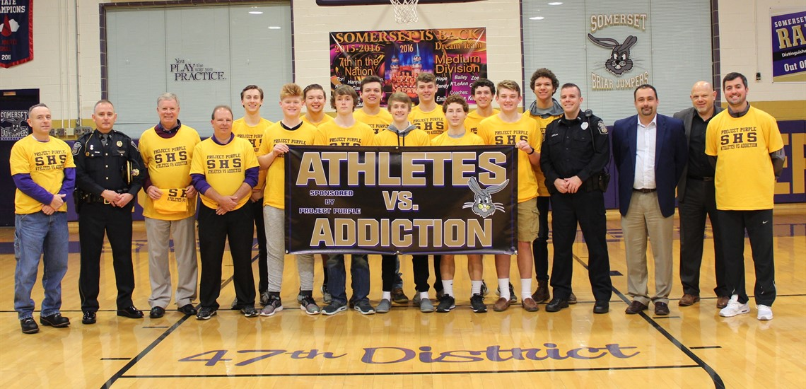 Athletes vs. Addiction