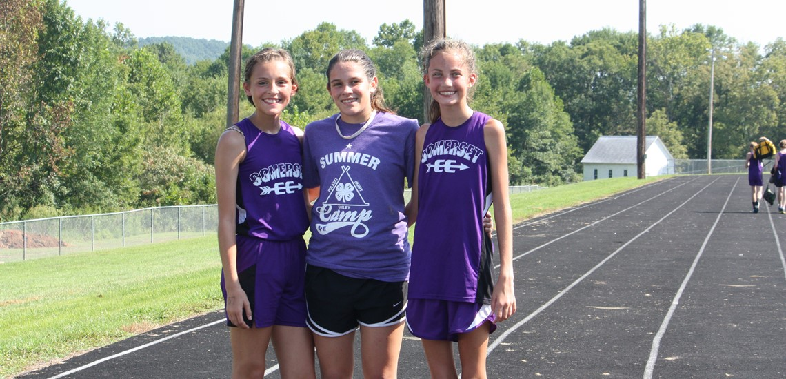 Somerset Cross Country Team Members