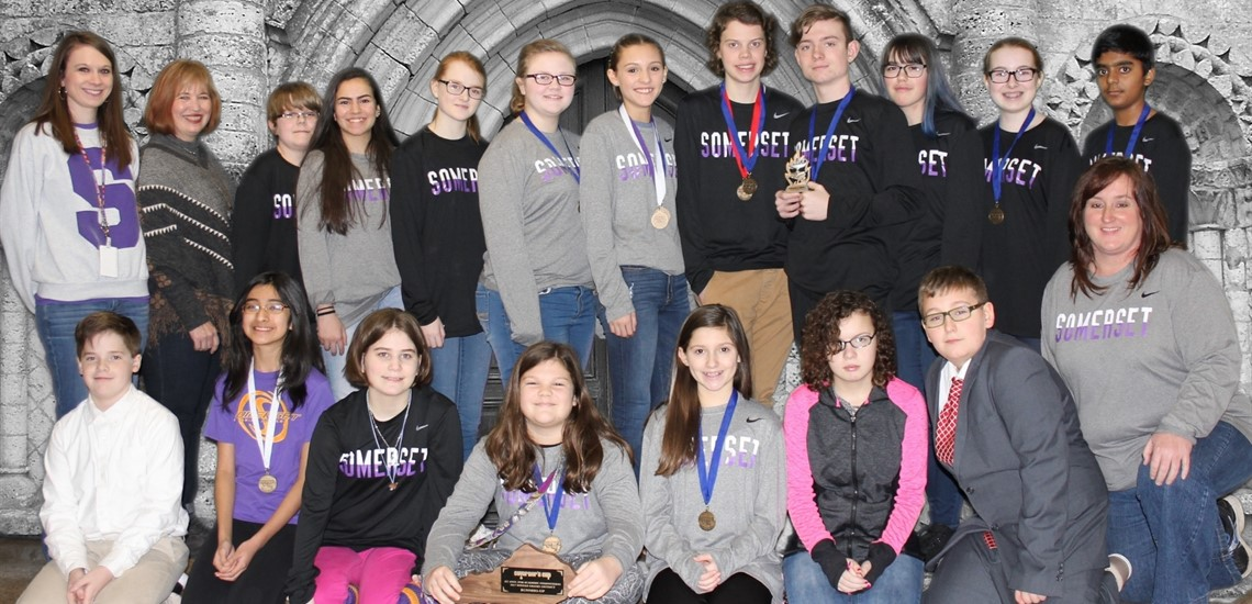 Academic Team at District Governor's Cup