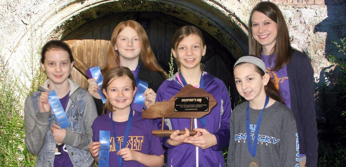 Future Problem Solving Team Wins 1st Place at District Governor's Cup
