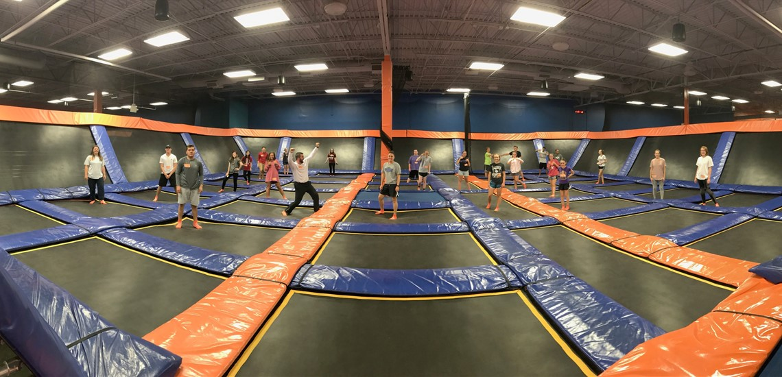 Project Purple at Sky Zone