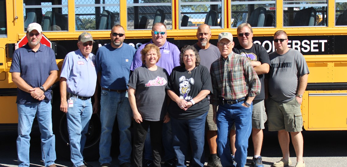 October 16, 2017 - October 20, 2017 School Bus Driver Appreciation Week! We are proud of our bus drivers.