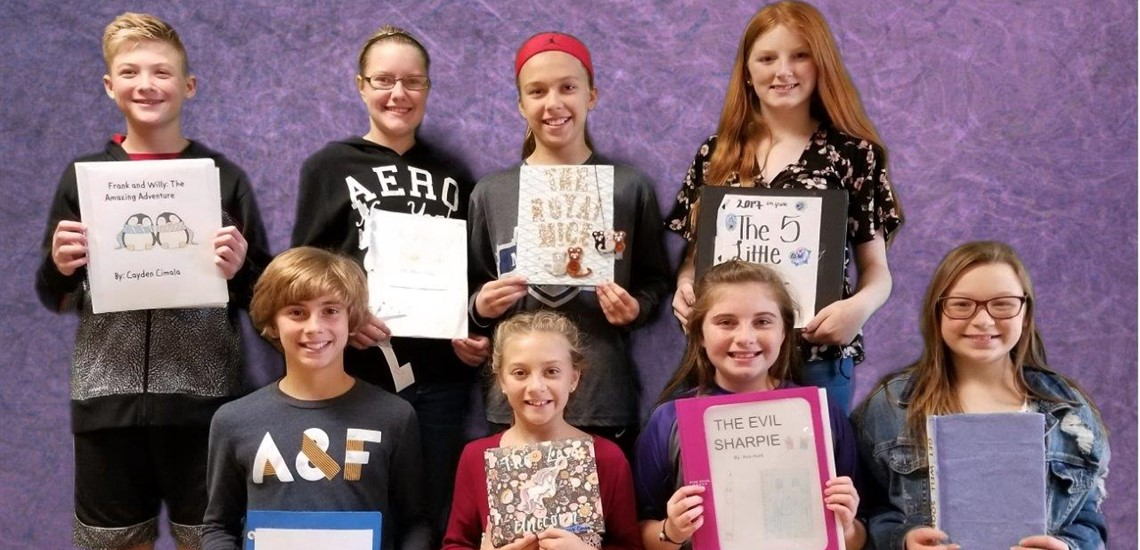 6th Grade Students Created Fairy Tale Books