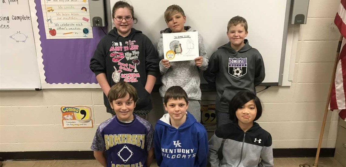 Fifth Grade Student Create & Publish their Own Book