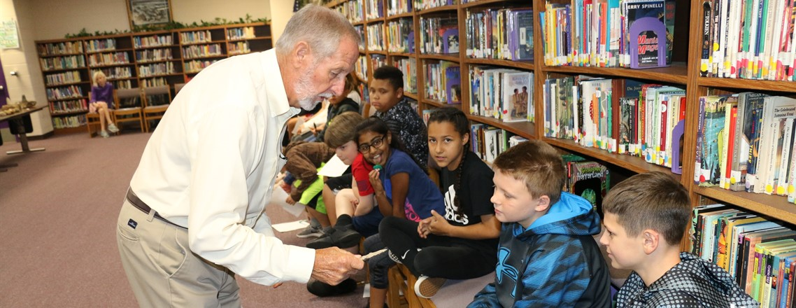 Students Receive Lesson on Native American Artifacts