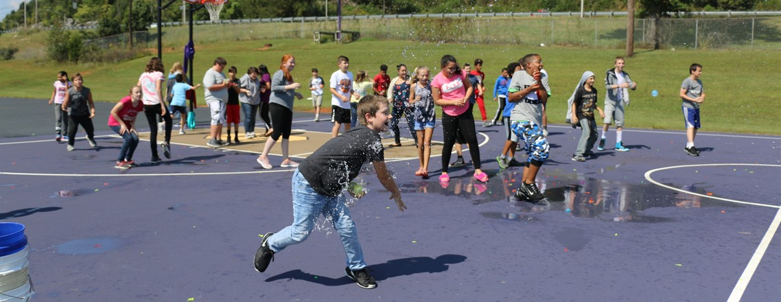 MMS High Attendance Challenge (Water Balloon Fight with Principals)