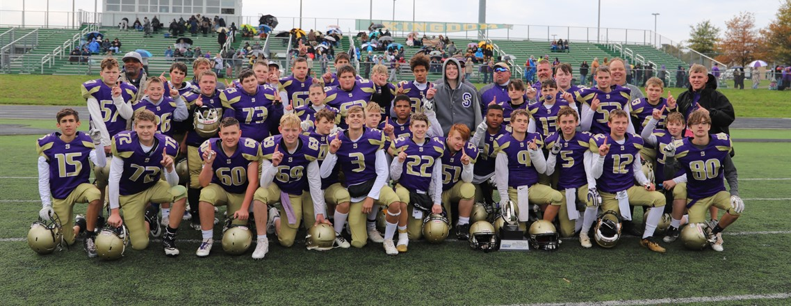Meece Middle School Division 3 State Football Champions!