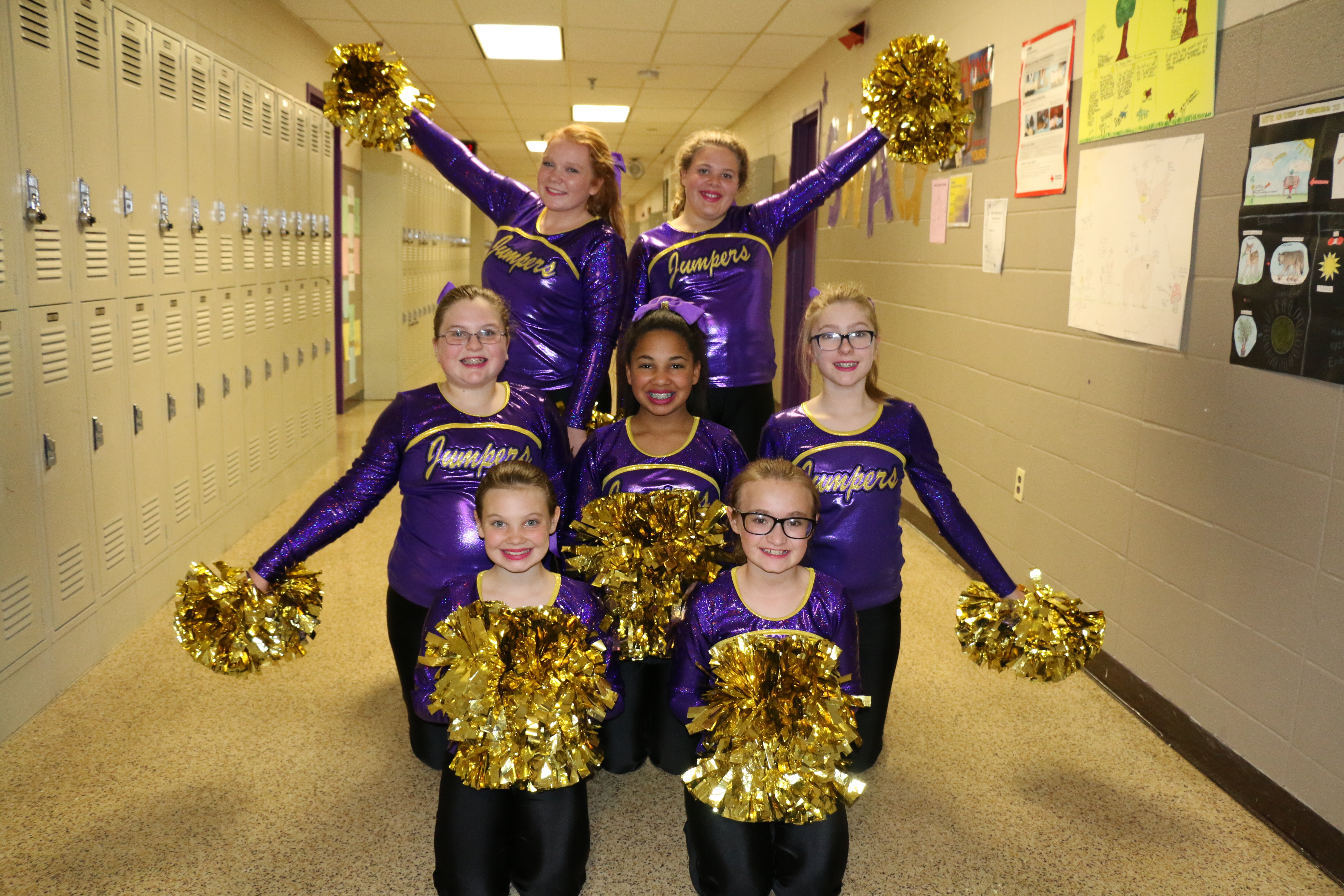 Dance Team Performs @ Basketball Game