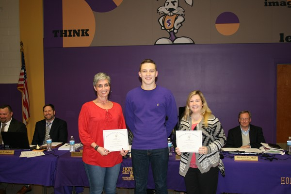 February Staff Recognition at Board Meeting