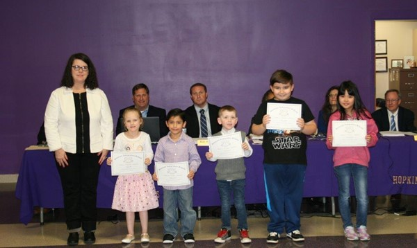 March Board recognition