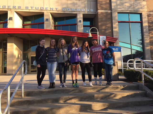 MMS Students attended GEMS (Girls Exploring Math & Science) @ SCC